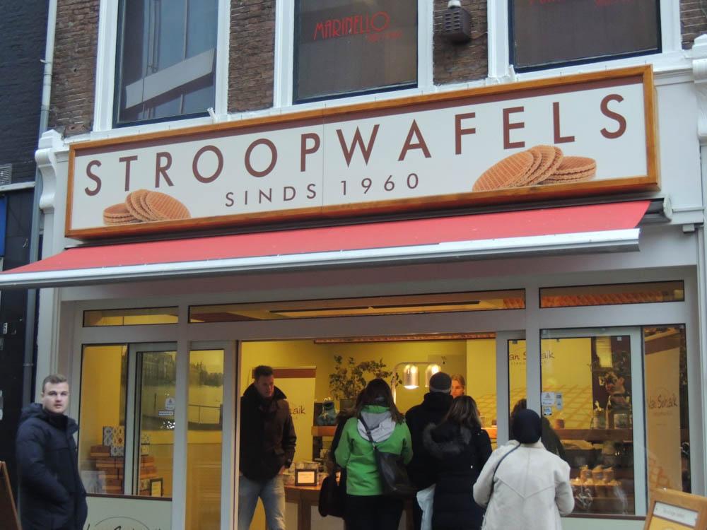 Stroopwafels, eine niederländische Spezialität