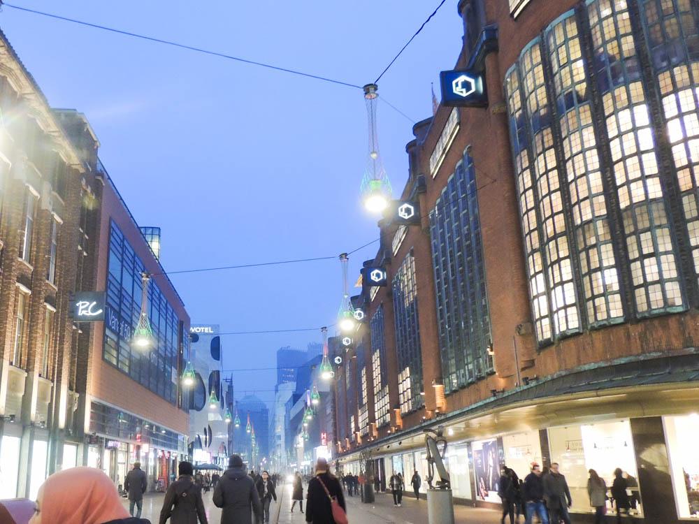 Innenstadt-Einkaufsstraße