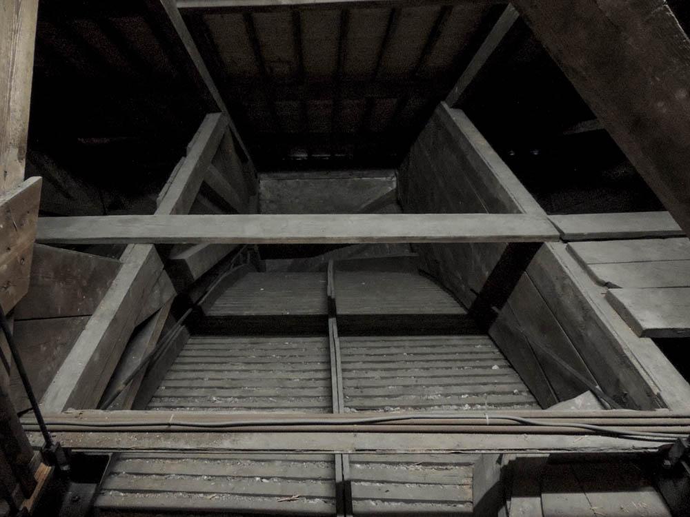 Gewölbe von oben